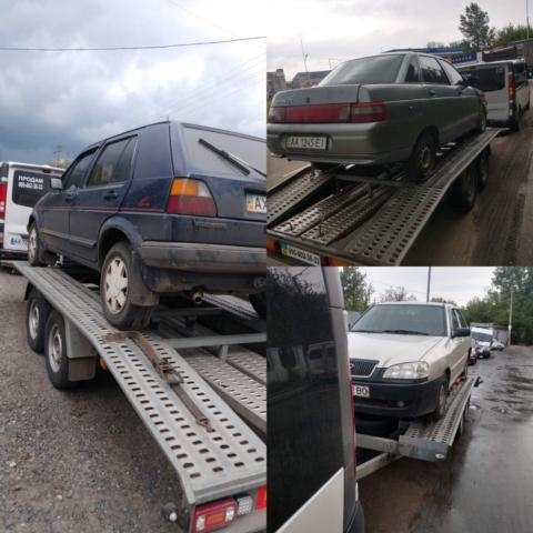 Перевозка автомобилей и грузов на лафете в Харькове