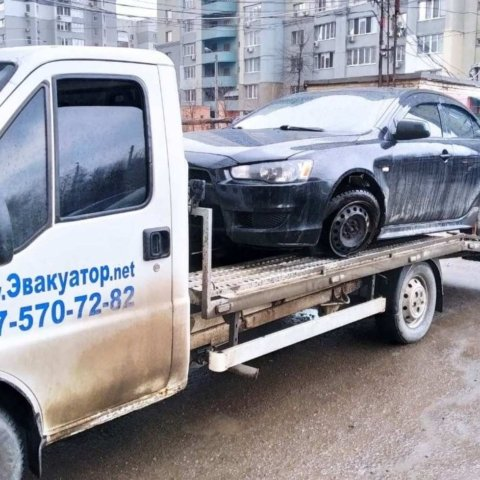 Эвакуатор для перевозки авто на ремонт