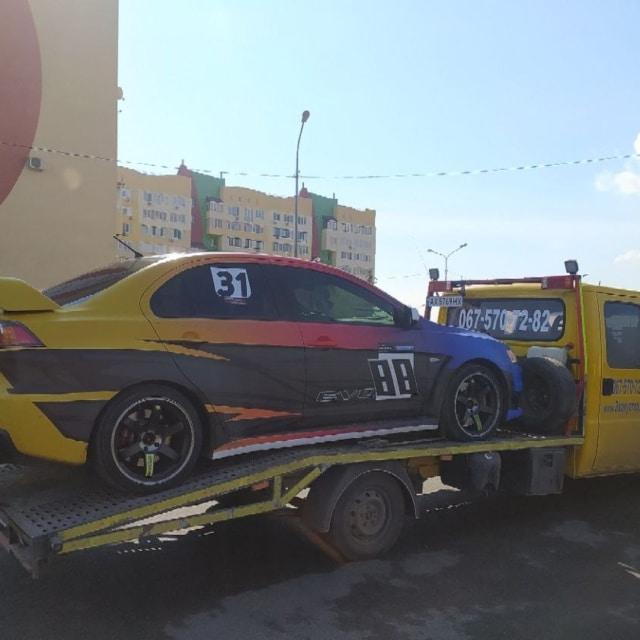 Перевозка авто на соревнования